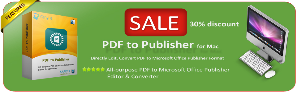 PDF to Publisher